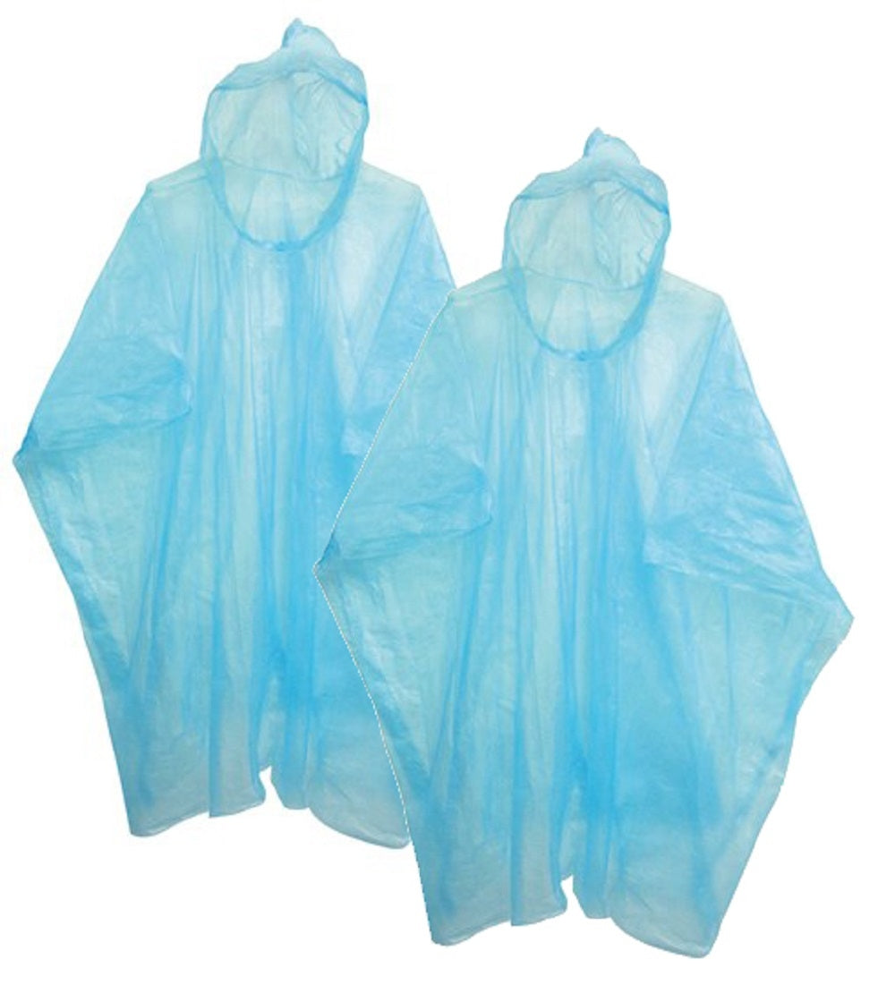 OCTAVE Holiday Essentials Rain Ponchos - Pack of 2
