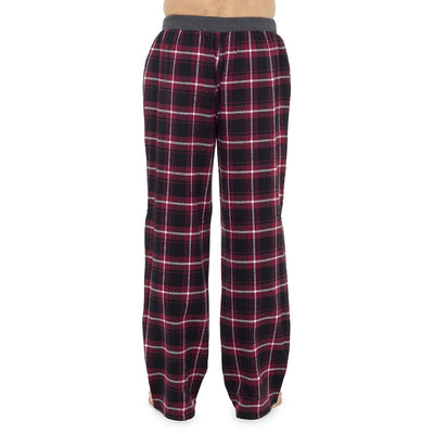 Octave Mens Check Lounge Wear Pants Pyjama Bottoms
