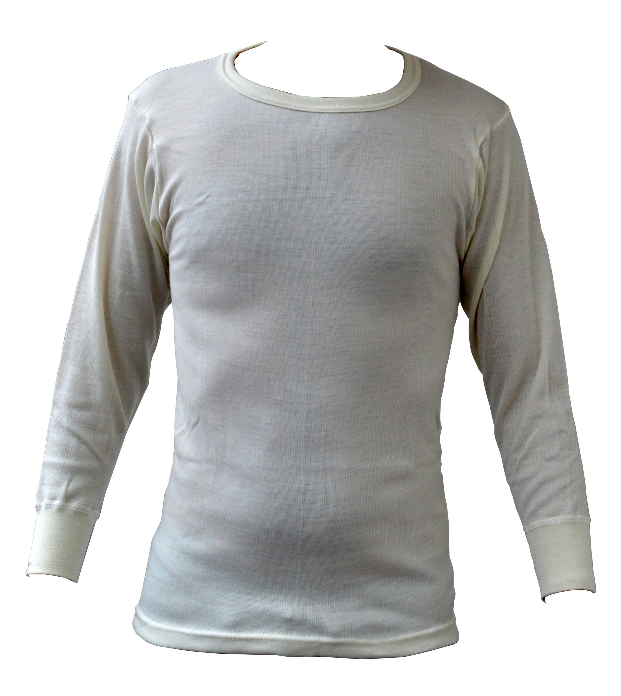 Mens Thermal Underwear Long Sleeve Vest T-Shirt