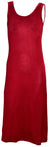 OCTAVE Ladies Maxi Dress - Red (Front)