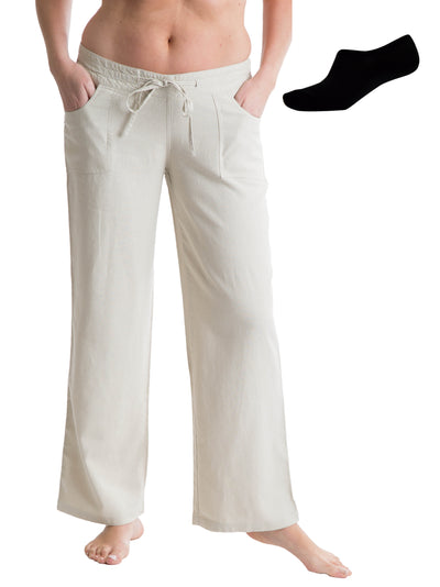 OCTAVE Ladies Linen Trousers