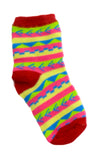 Kids Socks Strip Design