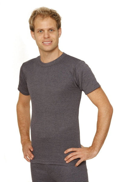 Octave® Mens Thermal Underwear Short-Sleeve Top