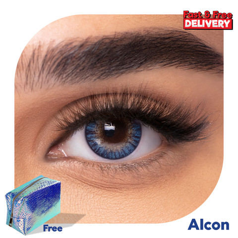 Coloured Contact Lenses Blue -6470