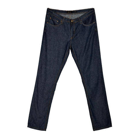 relaxed fit jeans men / navy -580