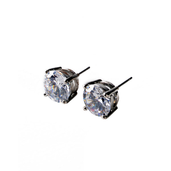 Earrings color silver  -109