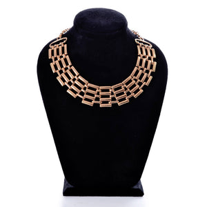 golden necklace  -796