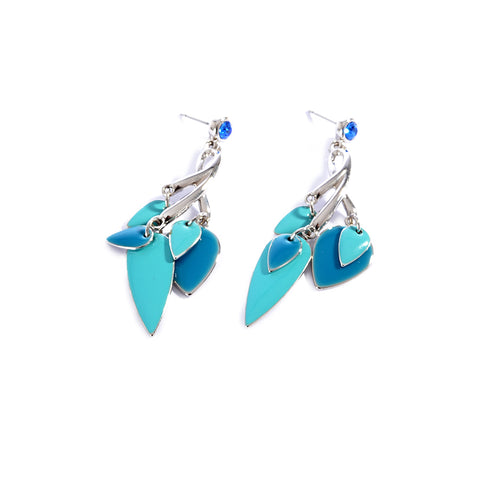 Earrings color silver  -1284