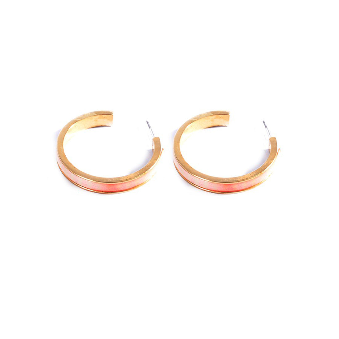 Earrings color gold -744