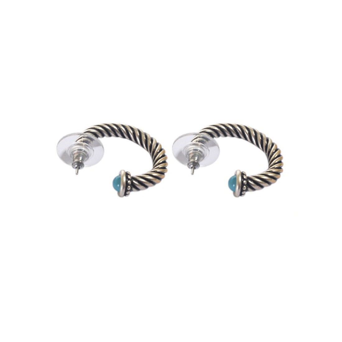Earrings color silver  -721