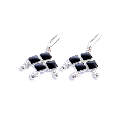 Earrings color silver  -701