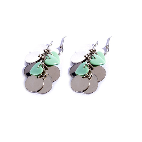 Earrings color silver  -703