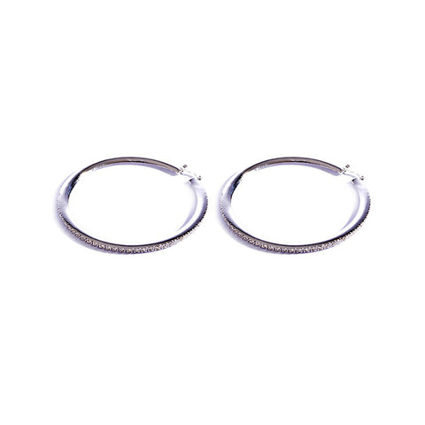 Earrings color silver  -756