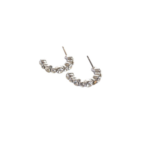 Earrings color silver  -751