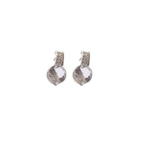 Earrings color silver  -786