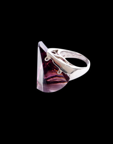 Purple colored ring -48