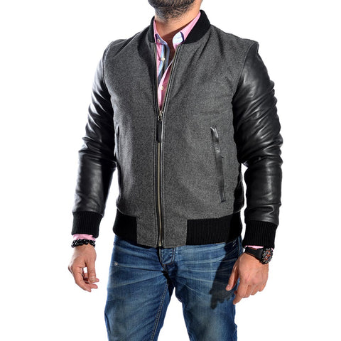 genuine leather Jacket  -1641