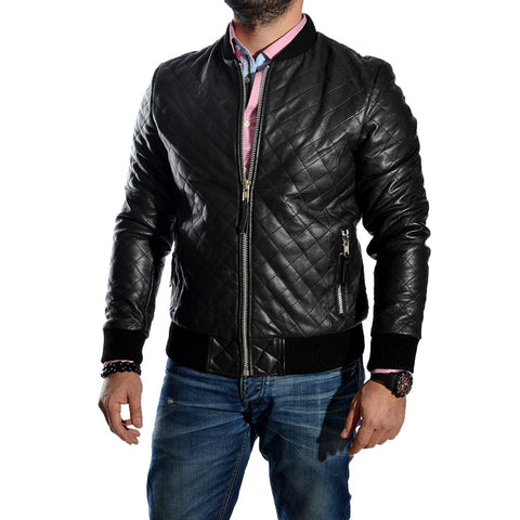 genuine leather Jacket  -1642