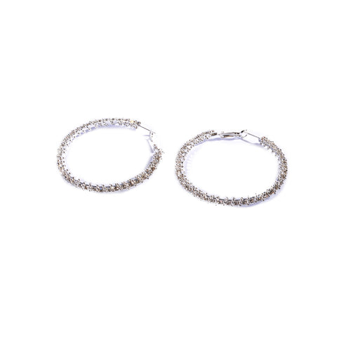 Earrings color silver  -110
