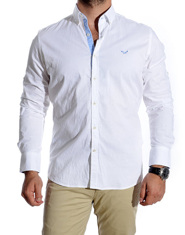 slim fit men shirt -617