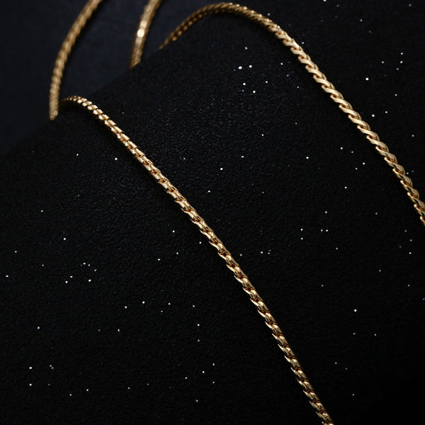 Necklace color gold -3623