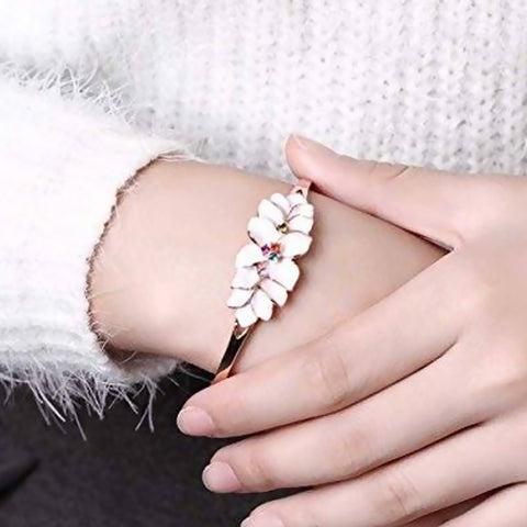 Bracelet color gold rose -3625