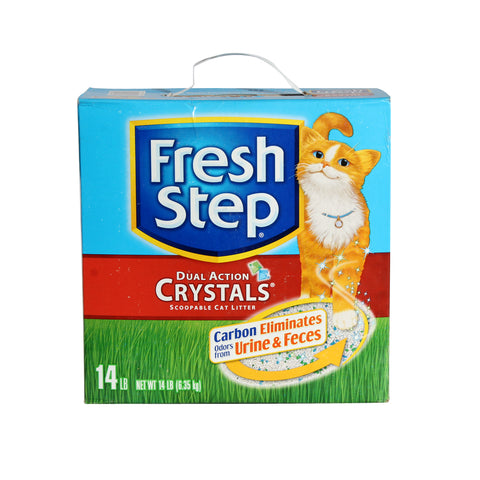 Scoopable Dual Action Crystals Cat Litter (Fresh Step -3709