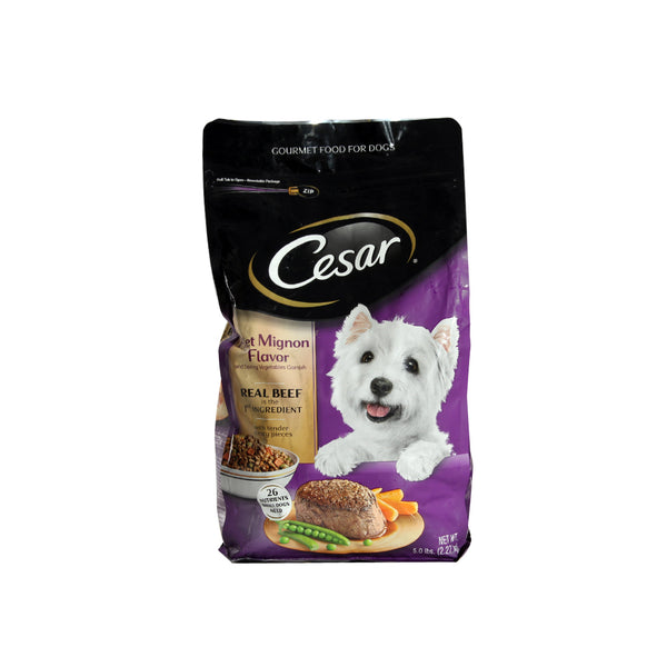 Cesar Small Breed Dry Dog Food Filet Mignon -3711