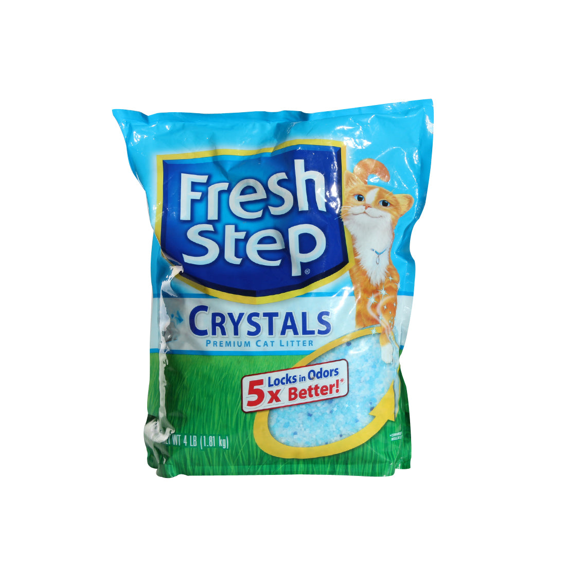 Fresh Step Crystals, Premium, Clumping Cat Litter, Scented -3713
