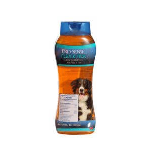 ProSense Pro-Sense Flea and Tick Shampoo, Deep Cleaning Fresh Scent, 20-Ounce -3732