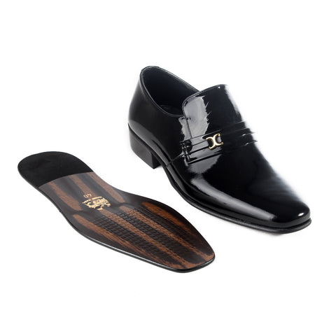 Formal  shoes /  100% genuine leather -black -6175