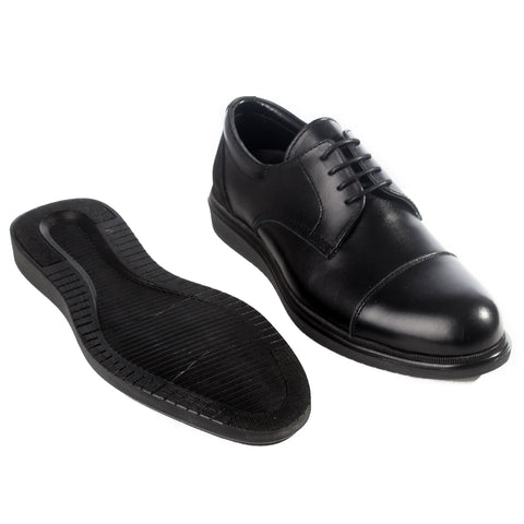 Formal  shoes /  100% genuine leather -black -6209