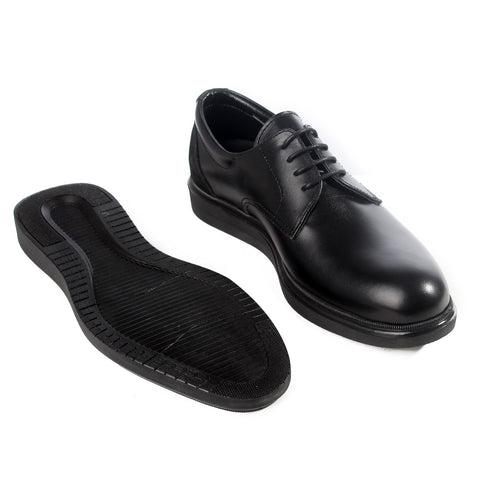 Formal  shoes /  100% genuine leather -black -6210