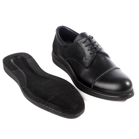 Formal  shoes /  100% genuine leather -black -6211