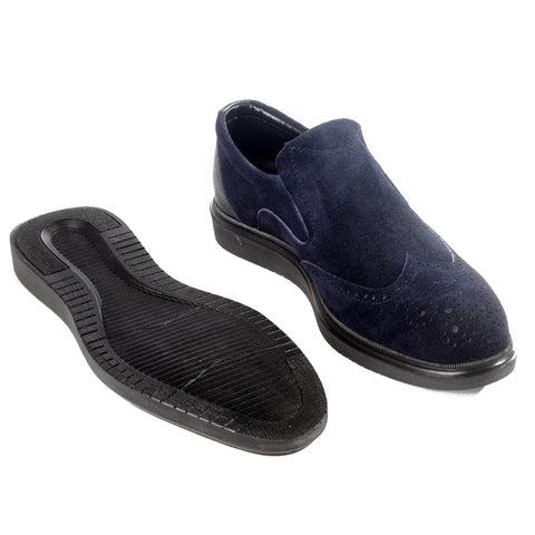 Formal  shoes /  100% genuine leather -Navy -6218