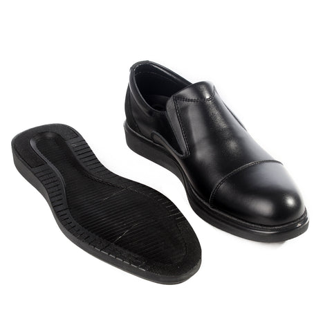 Formal  shoes /  100% genuine leather -black -6212