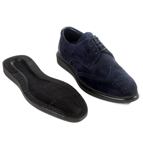 Formal  shoes /  100% genuine leather -Navy -6219