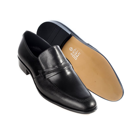 Formal  shoes /  100% genuine leather -black -6213