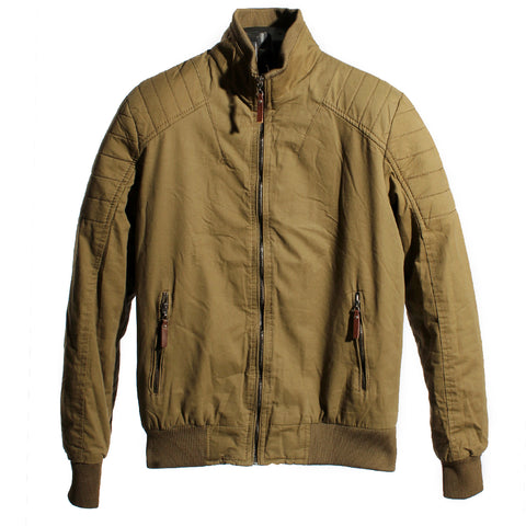 Men jacket/ colour olive brown -4029