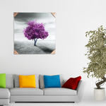 Nano crystals frameless wall art -4040