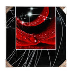 Nano crystals frameless wall art -4046