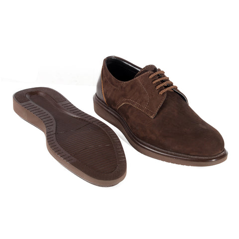 Formal  shoes /  100% genuine leather -brown -6325