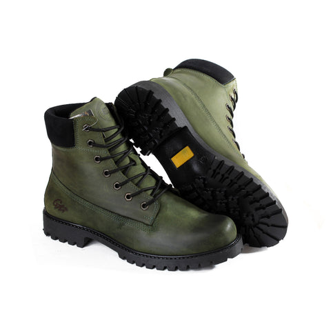 men high neck safety boots -4799