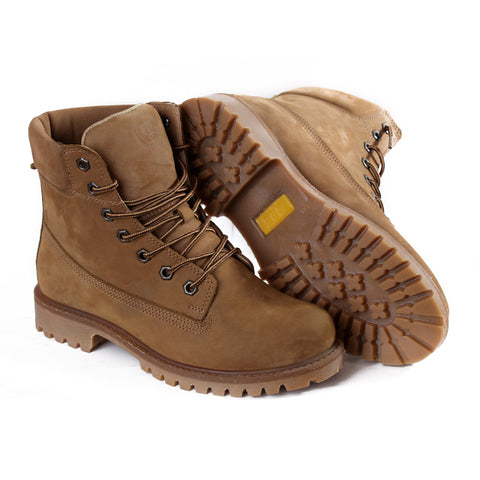 men high neck safety boots -4800