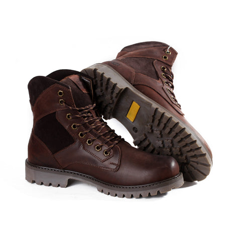 men high neck safety boots -4801