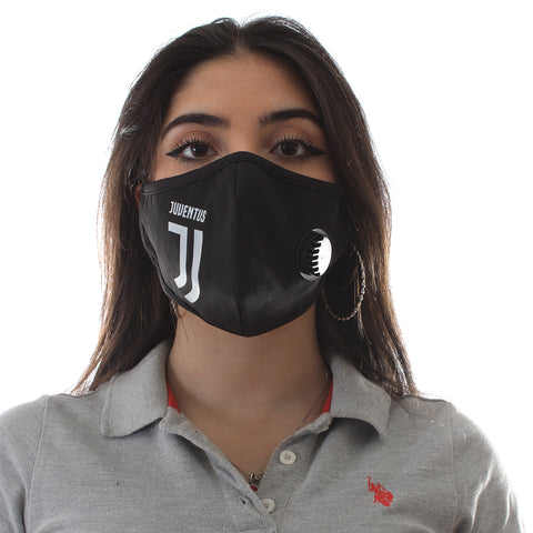 (K 95) Face Mask with inbuilt valve for easy breathing/ black -6285