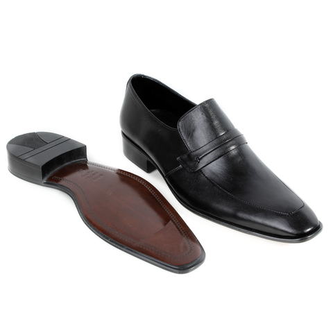 Formal  shoes /  100% genuine leather -Black -6323