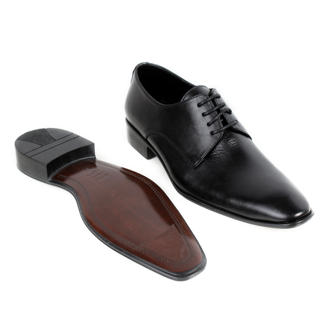 Formal  shoes /  100% genuine leather -Black -6324