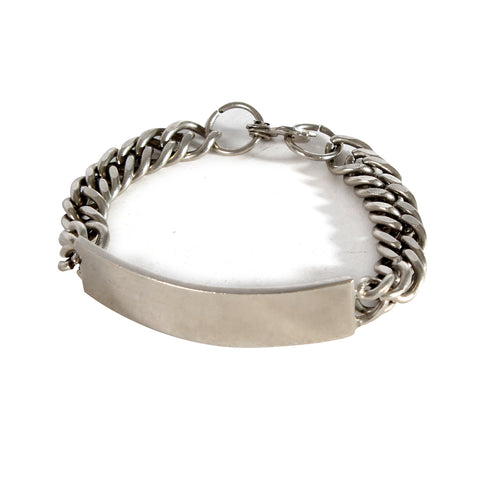 Bracelet for men colure silver -6338