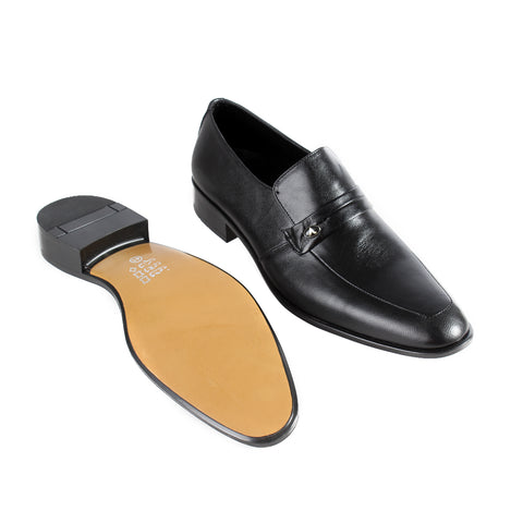 Formal  shoes /  100% genuine leather -Black -6351
